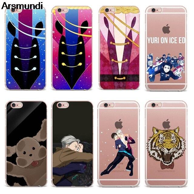 Arsmundi font b 2018 b font New Yuri on ice Phone Cases for font b iPhone