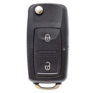 2 кнопки чехол ключа дистанционного управления автомобилем оболочка для VW Golf Bora Lupo Passat транспортер Поло Sharan Fox Amarok Fob чехол