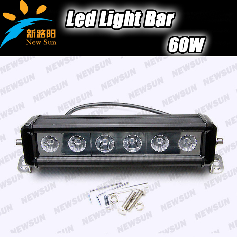60W CREE Chips LED Work Light Bar Car Off-Road SUV ATV 4WD 4x4 Boat Combo Beam 10-30V IP67 Driving Truck Fog Lamps 30 90w led work light bar off road single row suv atv 4wd 4x4 boat spot flood beam 10 30v 7650lm ip67 driving truck fog lamps