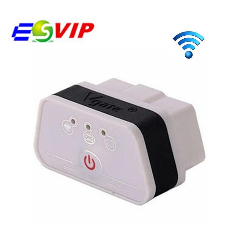 2018 Original Vgate iCar2 WIFI ELM327 Vgate wifi OBD2 OBDII icar2 wifi diagnostic interface Support Both