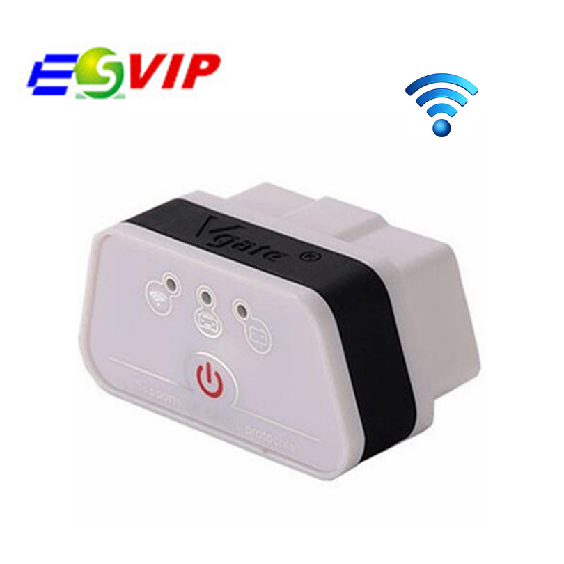 2018 Original Vgate iCar2 WIFI ELM327 Vgate wifi OBD2/OBDII icar2 wifi diagnostic interface Support Both IOS and Android
