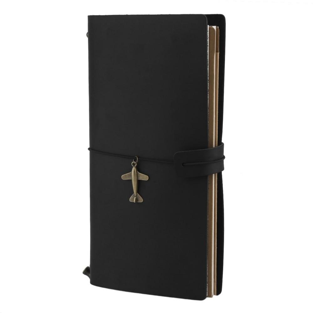 Vintage Genuine Leather Notebook Diary Travel Journal Planner Sketchbook Agenda DIY Refill Paper School Birthday Gift Note Book