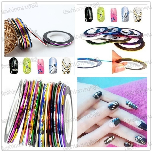 Where to buy nail art striping tape choice image nail art and hot sale mixed colors rolls striping tape line diy nail art tips hot sale mixed colors prinsesfo Gallery
