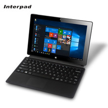 Interpad 10.1 inch 32GB Windows tablets Z8350 1.8GHz WIFI USB3.0 HDMI Camera 2 in 1 laptop Win10 tablet pc 2G RAM IPS 1280*800