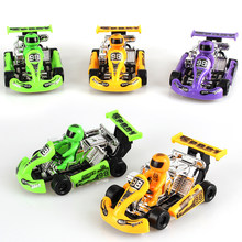 Baby Toys Cute Plastic Pull Back Cars Toy Cars for Child Wheels Mini Car Model Funny Kids Toys for Boys(China)