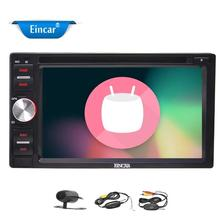 Backup Camera 2Din Android 6.0 OS Car Radio Player In Dash GPS Car Stereo Car DVD CD Player Headunit Supprt SW Control/WiFi/OBD2