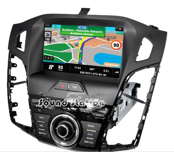 for focus 3 dvd gps radio touch screen for ford for focus. Black Bedroom Furniture Sets. Home Design Ideas