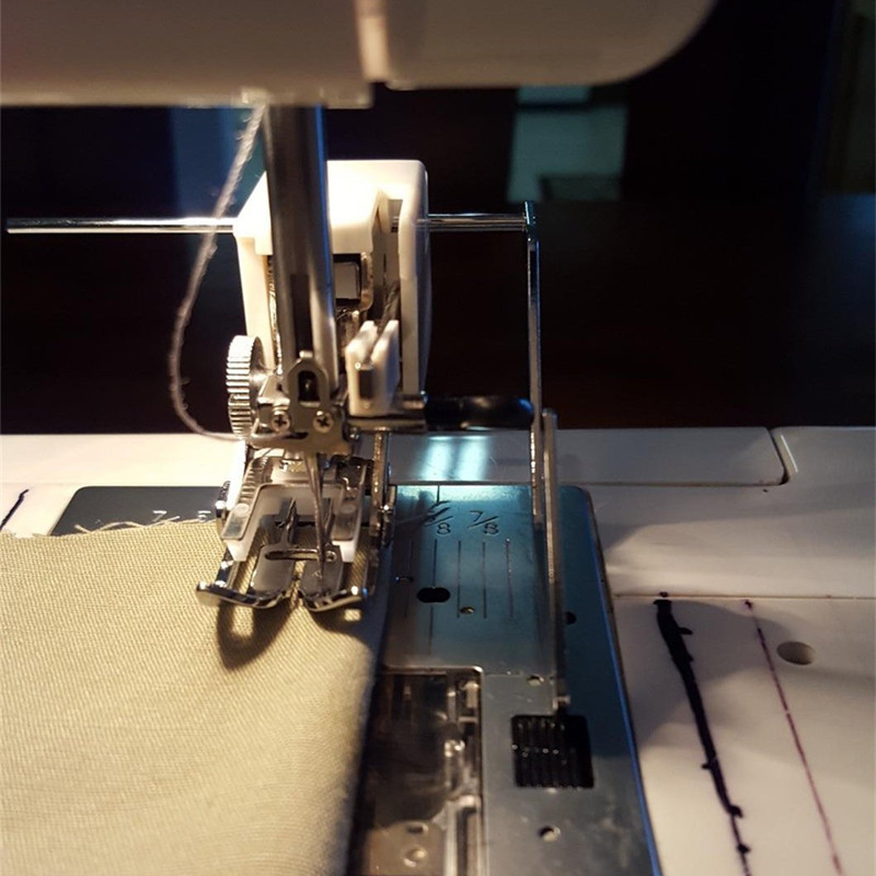 Low Shank Even Feed Walking Foot 40mm With Quilting Guide 2148740014 Stunning Elna Walking Foot Sewing Machine