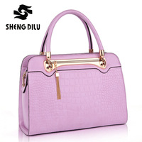 NEW HOT Women Handbag Special Offer Genuine Leather Bags Women Messenger Bag Brand Embossed Fresh Shoulder