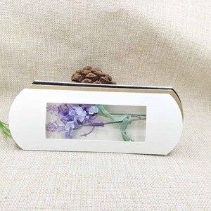 Image 4 - Lot başına 50 adet 16*7*2.4 cm beyaz/kraft/siyah yastık ambalaj kutusu şeker şekeri /hediyeler/ürünler ekran ambalaj açık pencere kutusu
