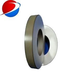 50*17*6.5mm piezoelectric ceramic materials Pzt-8,piezoelectric ceramic ring