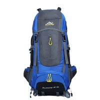 Sport Climbing 80L Large Outdoor Backpack Camping Professional Travel Bags Hiking Climbing Backpack Unisex Rucksacks Sports