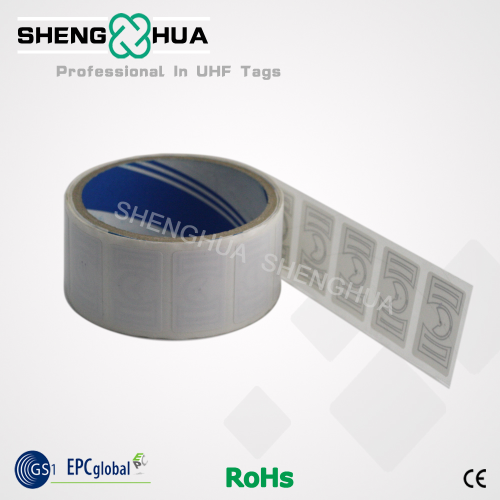 100PCS High Quality UHF LABEL RFID Passive Tag Blank Copper Paper Labels 36*22mm ALIEN H3 915MHZ