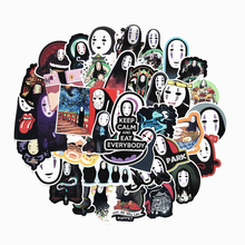 TD ZW 40Pcs No Face Man Spirited Away Stickers Decal For for Snowboard Laptop Luggage Car Fridge Car- Styling Sticker Pegatina