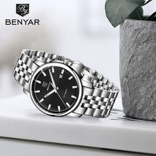 BENYAR2019 New Mens Watches Top Brand Luxury Automatic Mechanical Stainless Steel Watch Men Wristwatch Montre Homme