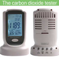 Multifunction CO2 Meter Carbon Dioxide Analyzer Portable Detector Gas CO2 Detector Tester Air Quality Monitor Analyzer