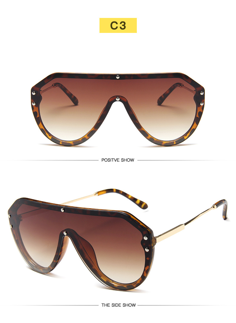 K32646-Emosnia Fashion One Piece Sunglasses