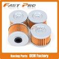 4X Mais Limpo do Filtro de Óleo Para CBR250 CBX250 CB300 CBR300 XLX350 XL350 GB400 GB500 XBR500 XL600 FX650 FMX650 NX650 SLR650 Motocicleta