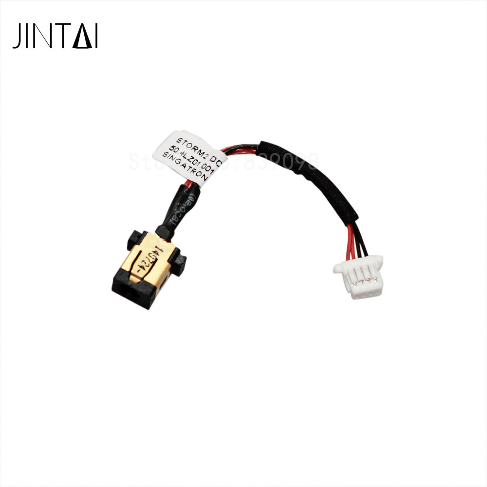 100% NEW LAPTOP DC POWER JACK SOCKET CONNECTOR CABLE FOR