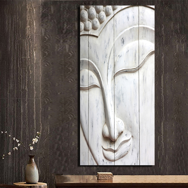 1 Panels Canvas Prints Buddha statue Painting Wall Art Home Decor ...