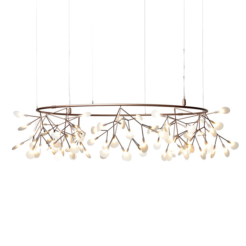 Modern circle Dia.210cm led pendant light creative personality branches firefly acrylic lamp for living room restaurant lobby modern circle tree branch led pendant light creative personality firefly dia 210cm nordic living room restaurant hall lobby lamp