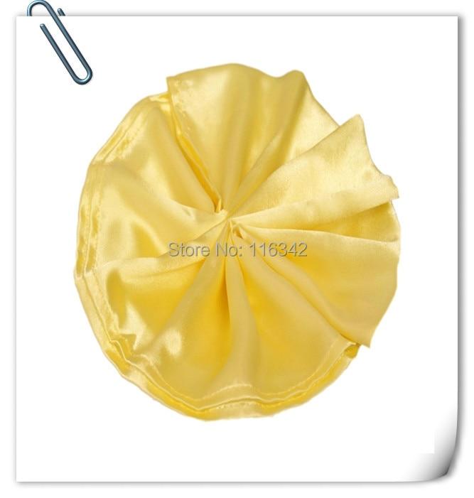 100pcs Top Quality Factory Direct Sale SATIN Napkin 50*50cm For Wedding Event &Party Decoration MARIOUS