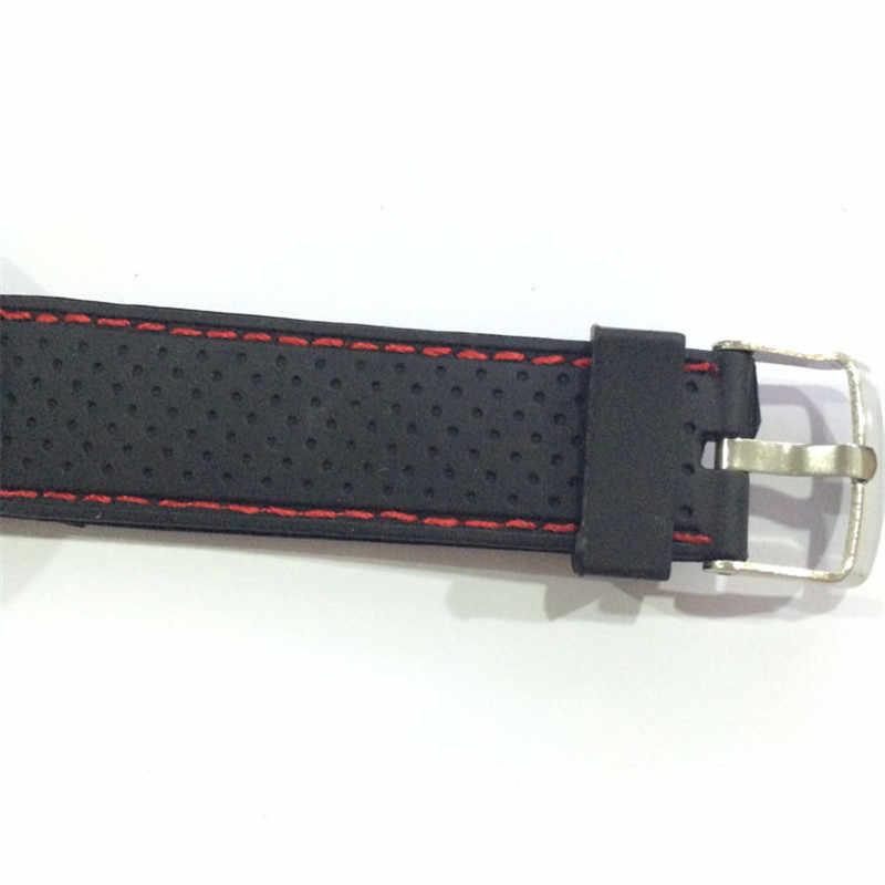 Mężczyźni ze stali nierdzewnej Sport moda fajne godziny kwarcowe Wrist zegarek analogowy wojskowy Sport mężczyźni часы мужские relogio masculino relojes