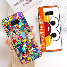 For Samsung Galaxy S10 Plus case for  Case Smile Cover S9 S7 Edge S8 S10e