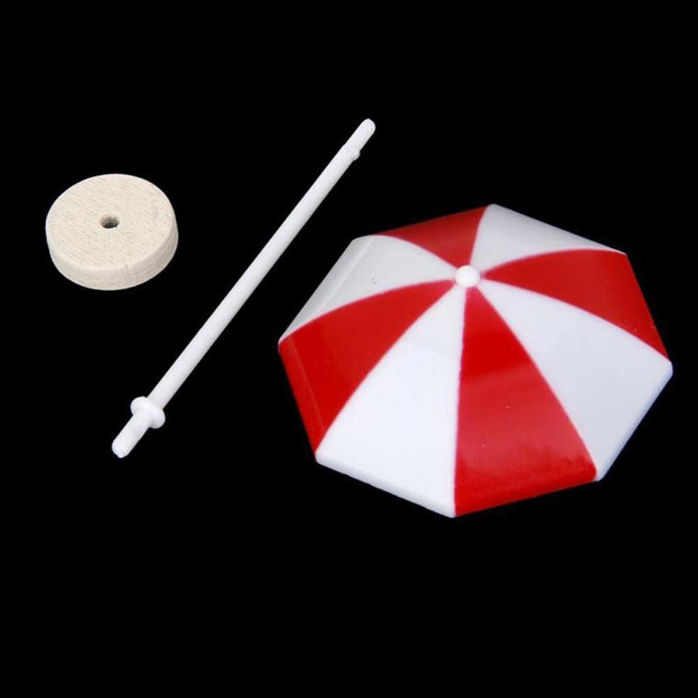 3 Warna Pantai Sun Payung Miniatur PVC Bonsai Peri Hiasan Rumah Boneka Merah Kuning Biru Mikro Lanskap Dekorasi Ukuran S M L