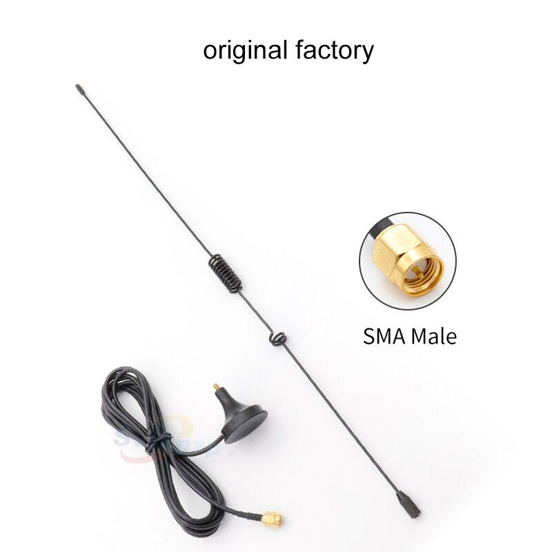 Image 2 - Универсальный автомобильный 433 МГц антенны 5dBi SMA разъем SMA J мужской воздушная Магнитная база присоски антенны сигнала Boost с кабелем-in Антенны для связи from Мобильные телефоны и телекоммуникации