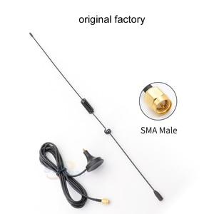 Image 2 - العالمي سيارة 433 mhz هوائي 5dBi SMA موصل SMA J الذكور الجوي المغناطيسي قاعدة مصاصة الهوائيات إشارة دفعة مع كابل