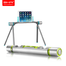 SIKAI Gray Creative Foldable Tablet PC Stand Lazy Bed Desk Floor Mount Holder For iPad Outdoor Holder Stand For iPhone Samsung
