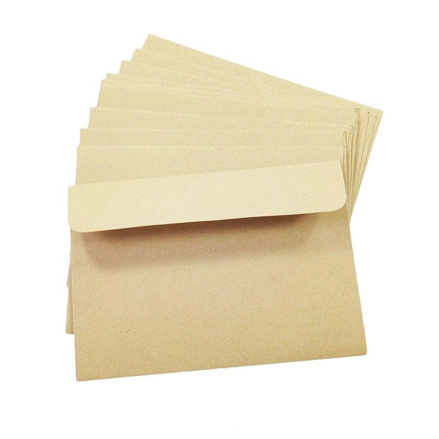 Image 5 - 100 шт./лот винтажные пустые Канцелярские конверты DIY Многофункциональные подарочные конверты оптом-in Бумажные конверты from Офисные и школьные принадлежности