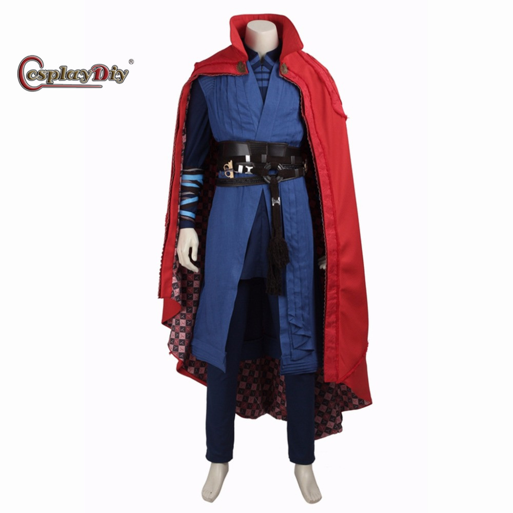 Cosplaydiy New Movie Doctor Strange Stephen Steve Vincent Strange Cosplay Costume Men Halloween Outfit Custom Made  sc 1 st  Google Sites : movie halloween costumes men  - Germanpascual.Com