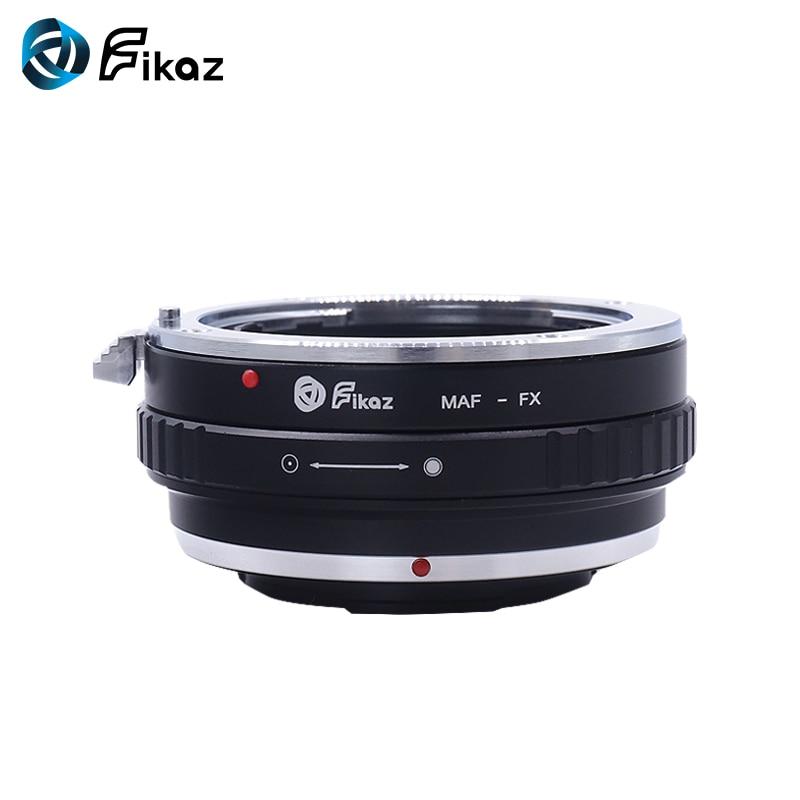 K&F CONCEPT for Minolta(AF)-FX Camera Lens Mount Adapter Ring for Minolta AF Lens to Fujifilm X-Mount Fuji X-Pro1 X-T10 X-E1