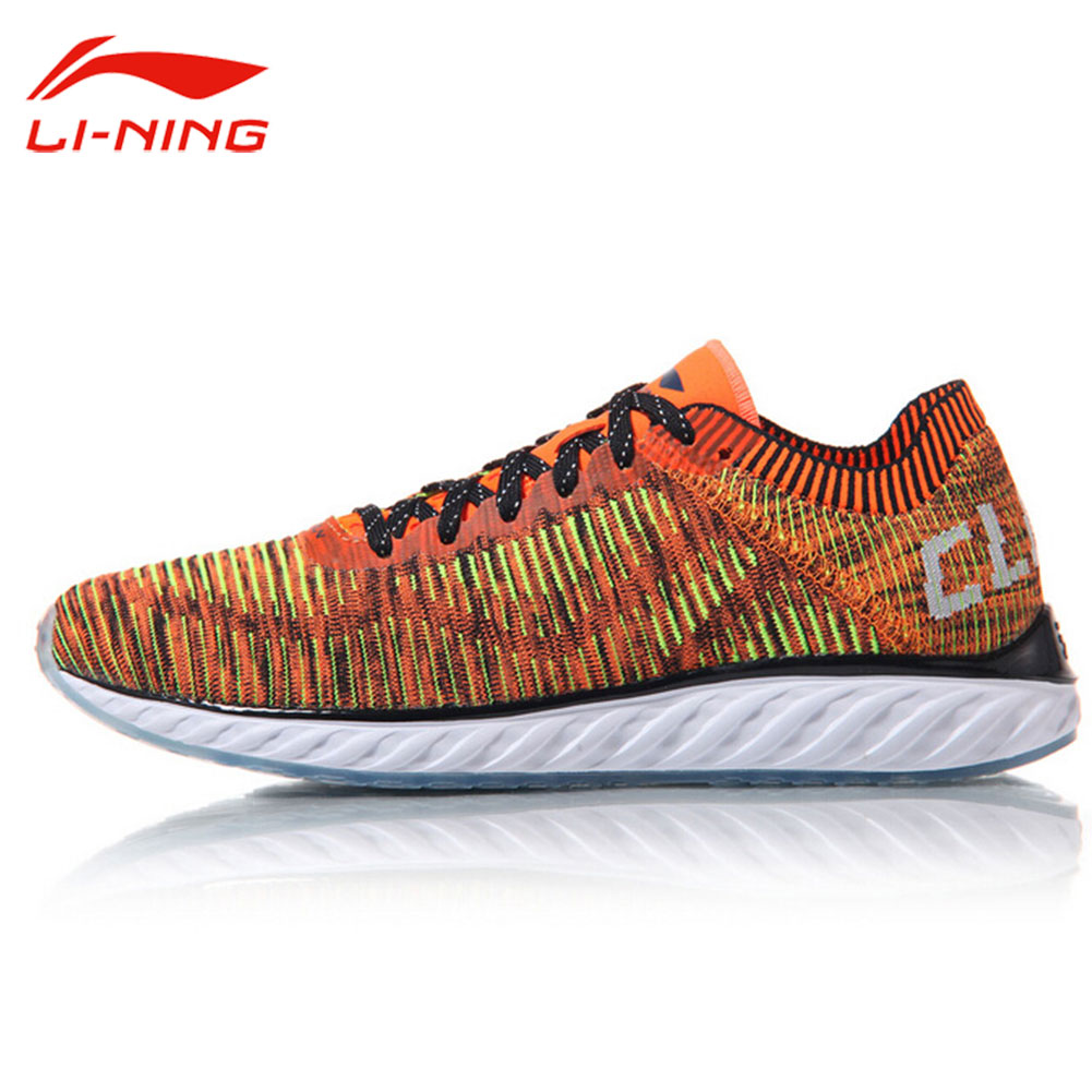 Li-Ning Men's Cushion Running Shoes Light Breathable Wearable Sneakers LINING Summer Sports Damping Running Shoes ARHM025 kelme 2016 new children sport running shoes football boots synthetic leather broken nail kids skid wearable shoes breathable 49