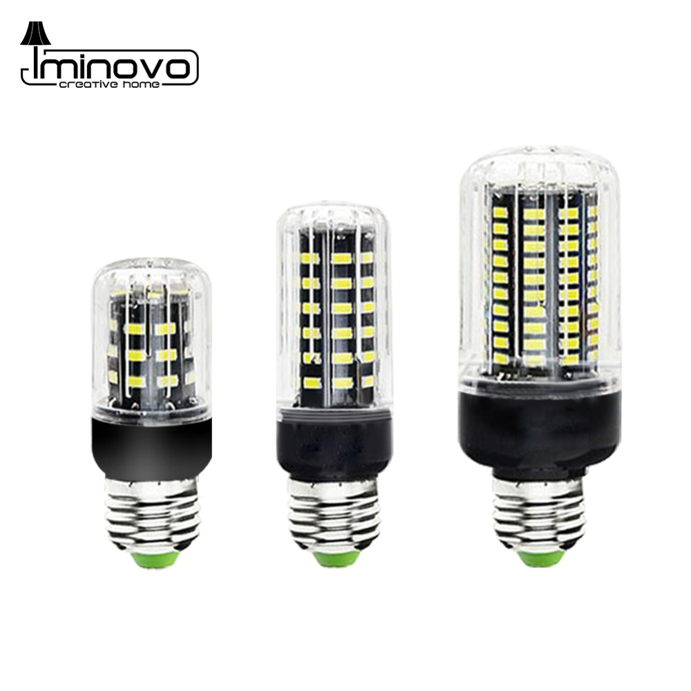 Super Bright E27 LED Lamp E14 Energy Saving Bulb Corn SMD5736 AC 110V 220V 30 38 54 85 105 115 125 LEDs Candle Light Home Decor e12 e14 e27 5w 10w 15w 20w 25w smd5736 85 265v spiral super bright led corn bulbs lighting energy saving lamps