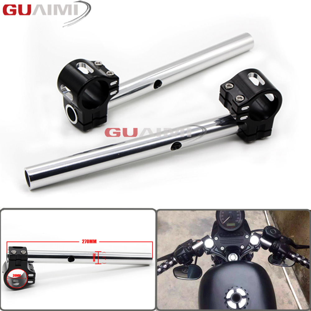 For Harley Sportster XL 883 1200 48 Dyna FXD FXDX FXDL XL48 XL883 XL1200 CNC Billet 39mm Fork Tubes Clip-On Handlebars 1 Bars skull motocycle cnc derby timing timer cover engine for harley xl xr sportster 883 1200 xl xl883 xl1200 forty eight seventy two