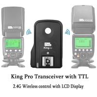 INSEESI Pixel for Nikon Camera D7100 D7000 D5100 D5000 Flash Trigger 2.4G King Pro Wireless Flash Transceiver High Speed 1/8000S