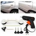 Car Auto Pops Un Dent Ding Retiro de la Reparación de Herramientas Car Care Set Kit de Vehículo Automóvil ABS Pistola de Pegamento DIY Pintura Negro