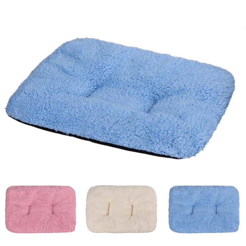 Pet Product Breathable Cat Bed Rest Dog Blanket Winter Foldable Pet Cushion Hondenmand Plush Soft Warm Sleep Mat Sweet Dream Bed