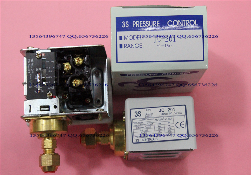 3s pressure switch single electro controller JC-201 3s pressure switch single electro controller hns 220 page 8