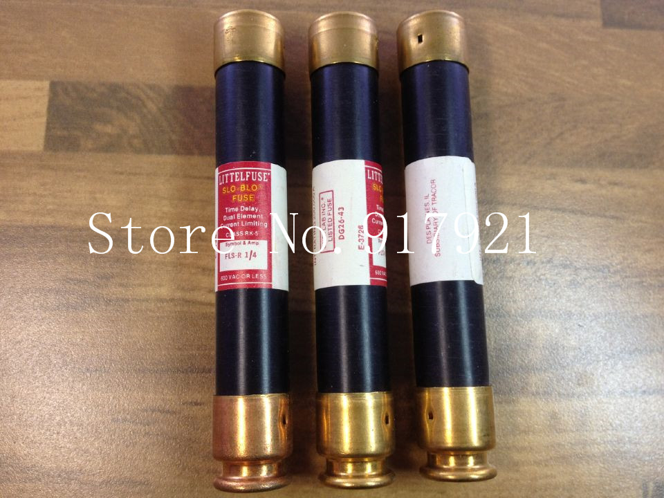 [ZOB] The United States Litteituse FLSR-1/4 600VCLASS RK-5 FUSE Lite fuse tube --2pcs/lot s 66g