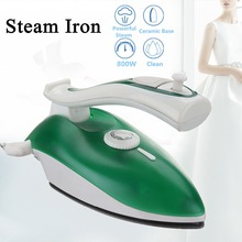 Electric Steam Iron SR-3058 115V/230V 800W EU Large Non-stick Soleplate Glides Anti-drip System Spray Mist Feature Foldable