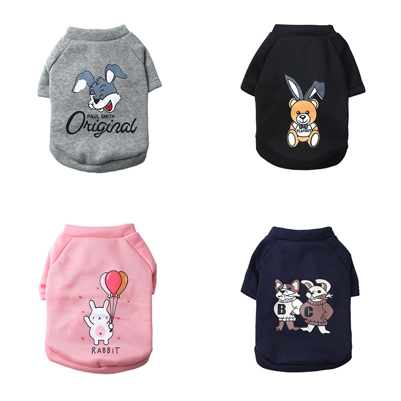 Cat Supplies Pet Products Cartoon Pet Cat Costume Winter Warm Cat Clothes For Cats Kitten Dog Coat Jackets Cotton Kitty Clothing Sweatshirt Pets Products