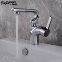 New Design High Quality Basin Mixer Tap Bathroom Faucet Robinet Salle De Bain Mixer Tap Chrome