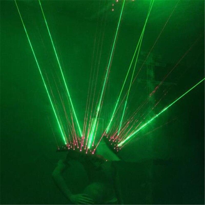 Neues Design Rot Grün Laser Weste Laserman Weste Anzüge Mann - Partyartikel und Dekoration - Foto 3