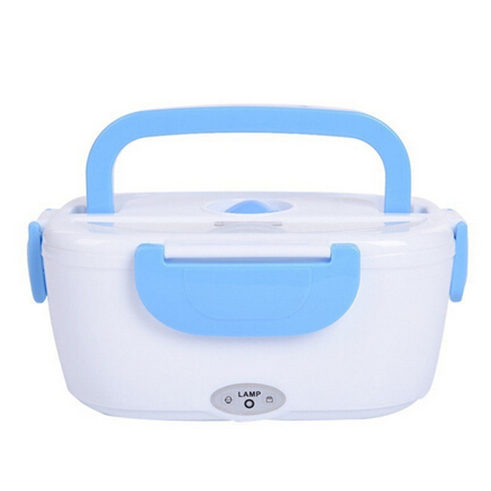EU PLUG 2 colors Electric Portable Heated Lunch Food grade Food Container Set Food Warmer With