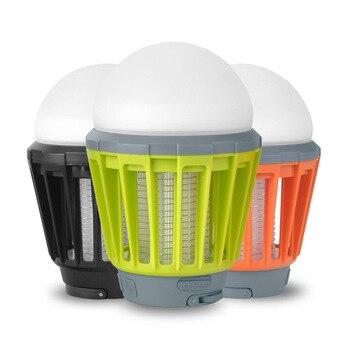литий ионный аккумулятор 12 В | Портативный уличный кемпинговый светильник, лампочка с Usb зарядкой, светодиодный светильник от комаров, водонепроницаемый репеллент, инстр...