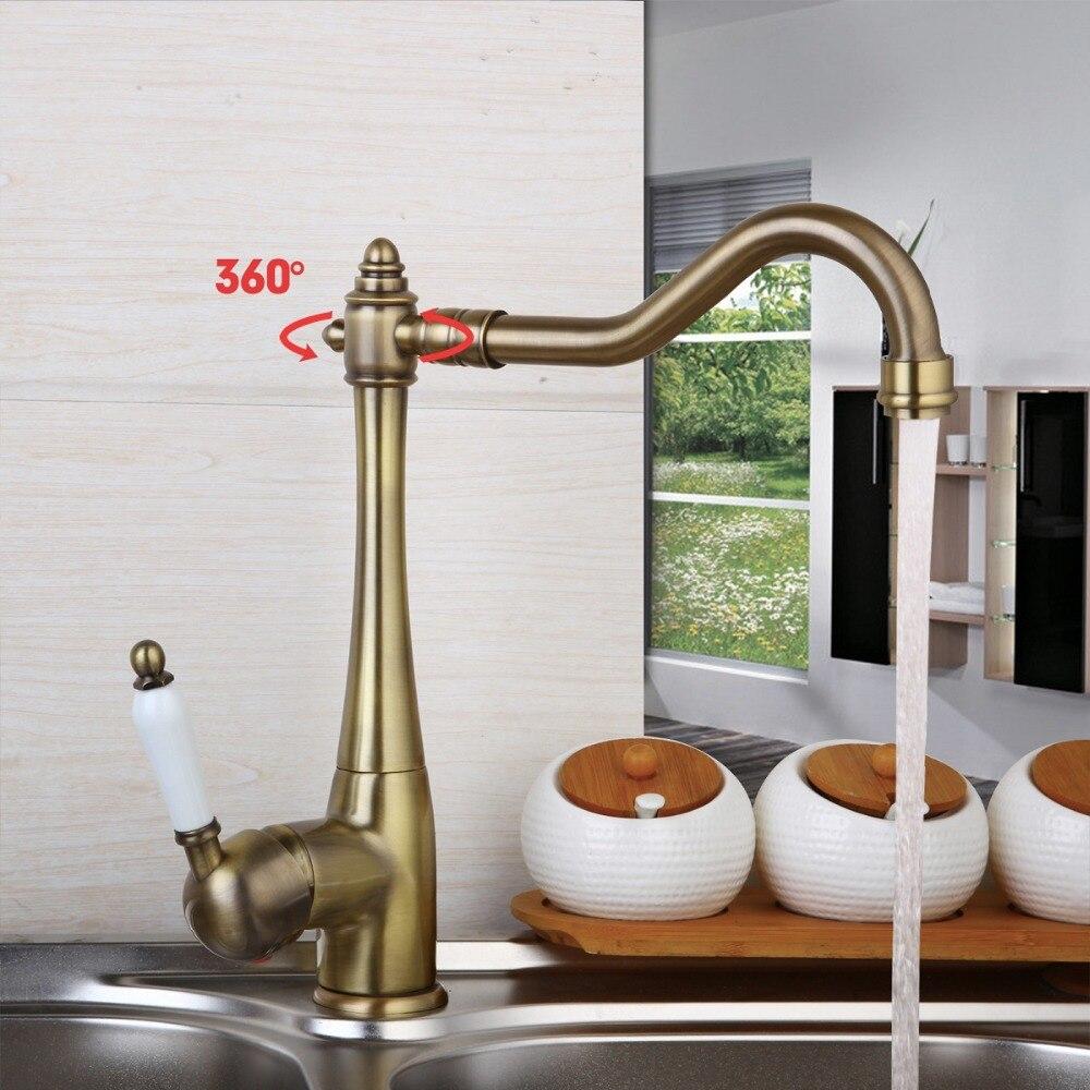 Hot selling Antique Brass basin faucet bathroom faucet basin mixer basin tap torneira 8414